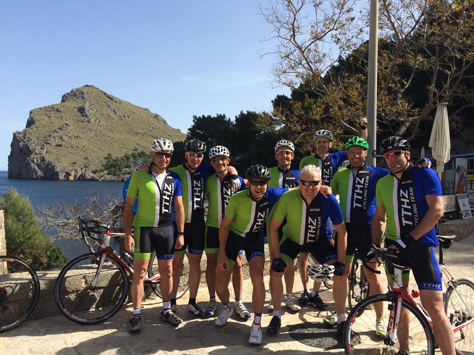 TTHZ Cycling Team in Mallorca