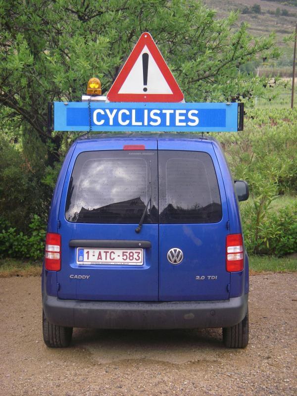 Wedstrijdwagen TTHZ Cycling Team